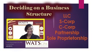 Deciding on a Business Structure