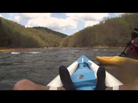 Cheat River White Water Kayaking