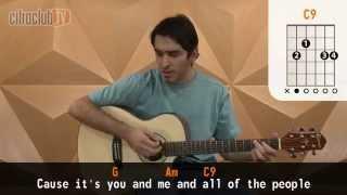 You and Me - Lifehouse (aula de violão simplificada)