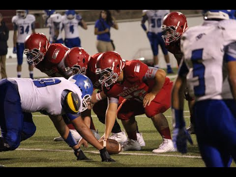 September 18, 2015 Sweetwater Mustangs vs Fort Stockton Panthers