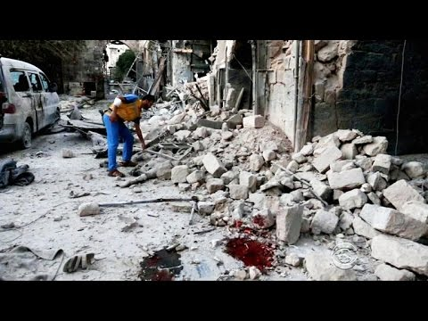 Syrian civilians under attack, cut off from aid