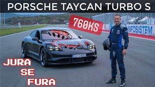 760 konja na trkaćoj stazi! - Porsche Taycan Turbo S - Jura se fura po Grobniku