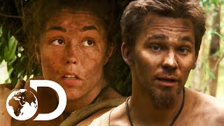When Your Survival Partner Isn't Quite The Expert He Thinks He Is... | Naked And Afraid