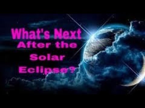 WHAT TO DO AFTER THE SOLAR ECLIPSE! WHAT HAPPENS NEXT?