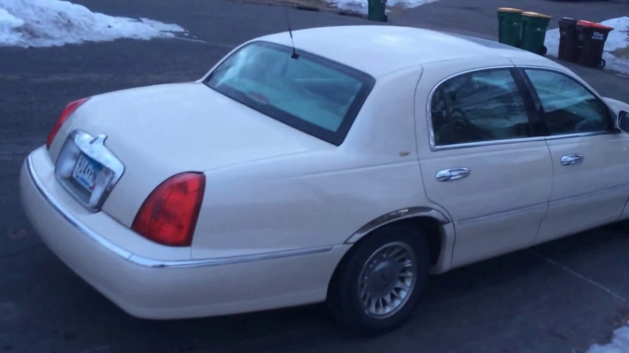 For Sale 1999 Lincon Town Car Cartier Minnesota Youtube