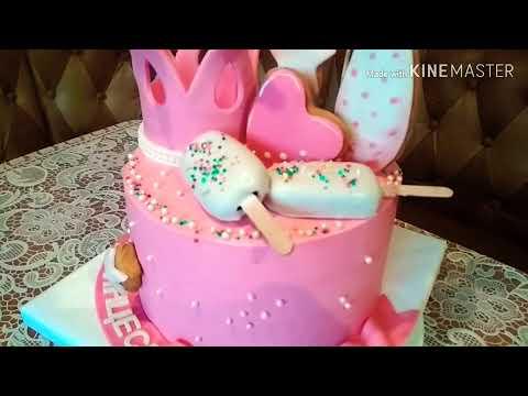 Торт для девочки на 1 годик