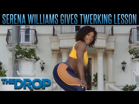 Serena Williams Gives Twerking Lesson – The Drop Presented by ADD