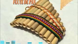 Repeat youtube video Instrumental Andina en Flauta de Pan Melodiosos Sonidos de los majestuOSOS Andes