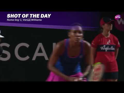 2017 Internazionali BNL d'Italia Day 1 | Shot of the Day | Venus Williams