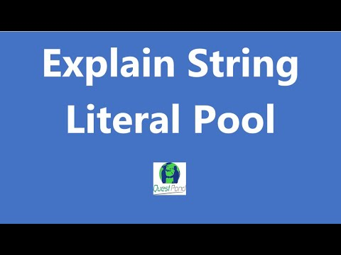 Core Java/J2EE interview questions: - String Literal Pool