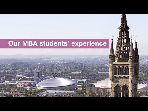 Our MBA students' experience