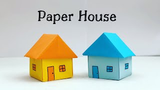 How To Make Easy Paper House For Kids / Nursery Craft Ideas / Paper Craft Easy / KIDS crafts