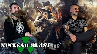 SABATON – Pär and Joakim's favourite album artwork (EXCLUSIVE TRAILER)