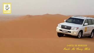 Dune Bashing in Best Desert Safari Dubai with Happy Tours