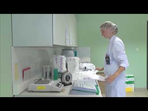 Continence Care - Technology of the pads, water demos