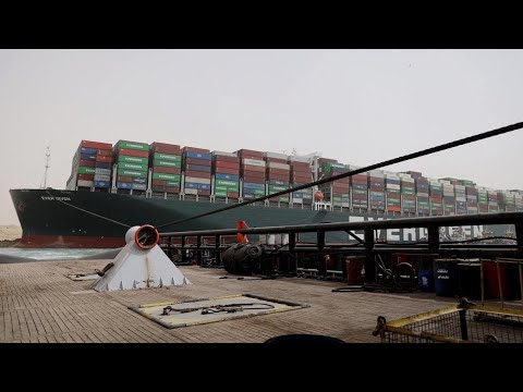 Suez Canal Cleared for Shipping
