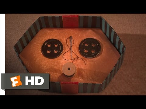 Coraline (7/10) Movie CLIP - Buttons for Eyes (2009) HD