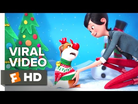 The Secret Life of Pets VIRAL VIDEO - Christmas (2016) - Kevin Hart, Ellie Kemper Animated Movie HD