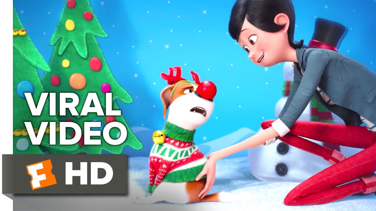 the secret life of pets viral video christmas 2016 kevin hart ellie kemper animated movie hd youtube - Animated Christmas Movies