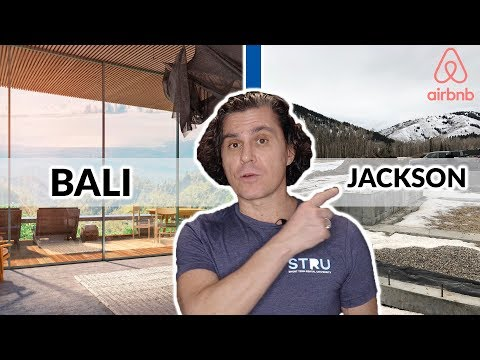 Airbnb Projects: Let's Talk About My Bali and Jackson, WY Airbnb/VRBO Projects!!
