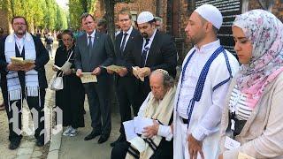 As Europe battles anti-Semitism, Muslim and Jewish youth meet at Auschwitz