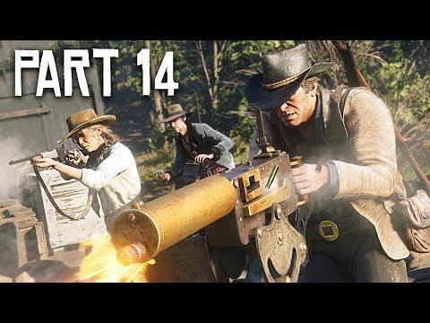 Red Dead Redemption 2 Gameplay Walkthrough, Part 14!! (RDR 2 PS4 Gameplay)