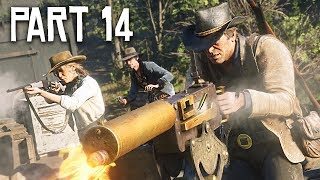 Red Dead Redemption 2 Gameplay Walkthrough, Part 14!! (RDR 2 PS4 Gameplay)