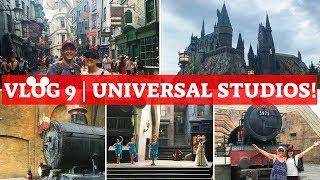 WALT DISNEY WORLD & UNIVERSAL 2018 VLOG 9 | The Wizarding World of Harry Potter!!