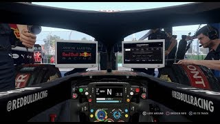 F1 2018 First Attempt At Career Mode on 100 Difficulty