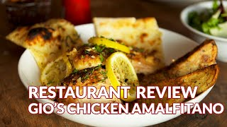 Restaurant Review - Gio's Chicken Amalfitano, Italian | Atlanta Eats