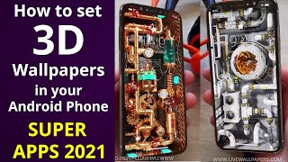 How to set 3D 🔴Live Wallpapers in your Android Phone | SUPER APPS 2021 | screenshot 4