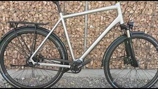 Kalkhoff Endeavour P12 Pinion , Gates Trekking Bike 2017