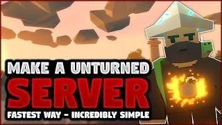 Unturned: Fast server setup! - (Unturned seŗver organiser tutorial) [2017]