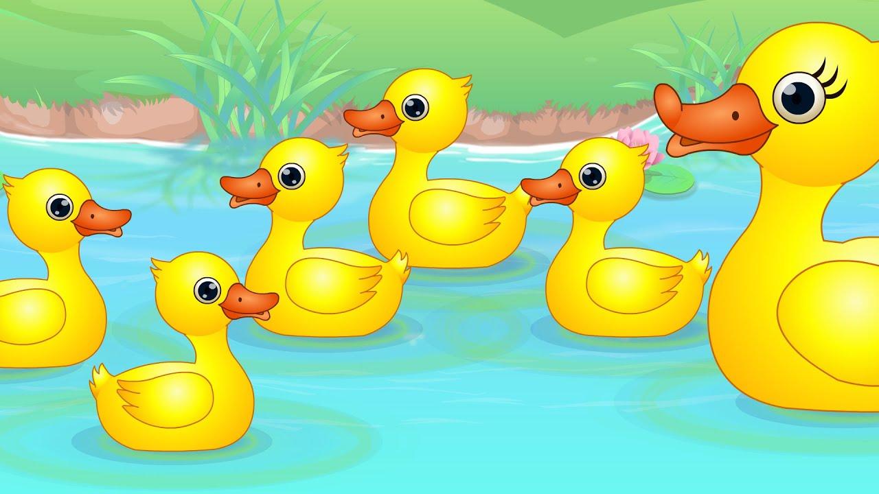 Five Little Ducks   Nursery Rhymes From Oh My Genius - YouTube