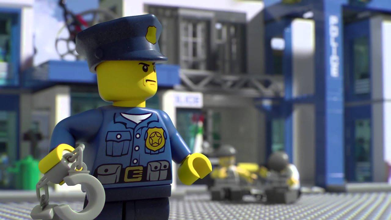 Stazione Della Polizia Di Lego City Youtube