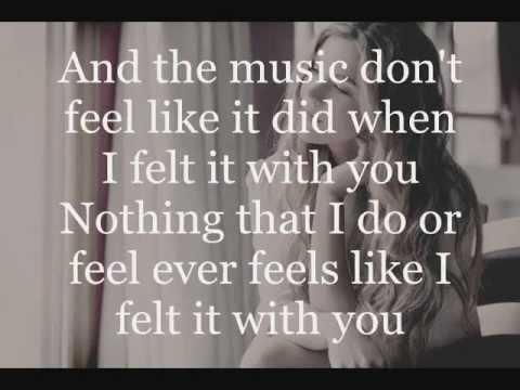 Joss Stone - Teardrops lyrics on screen