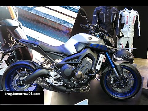 yamaha mt 09 abs accessories tokyo motorcycle show 2016 youtube. Black Bedroom Furniture Sets. Home Design Ideas
