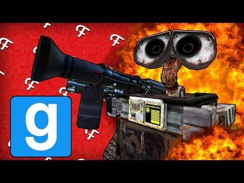 Gmod Sandbox: Sanic, WALL-E -G Fails, Atomic Bomb Tsar Bomba, Crashing Gmod (Online - Comedy Gaming)