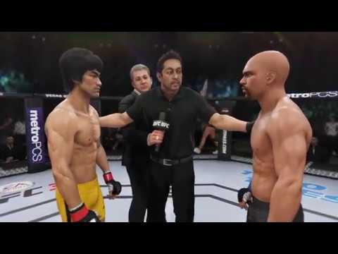 Bruce Lee vs. Floyd Mayweather (EA Sports UFC 3) - CPU vs. CPU