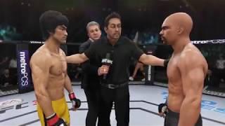 Bruce Lee vs. Floyd Mayweather (EA Sports UFC 3) - CPU vs. CPU