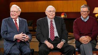 Watch CNBC's full inteŗview with Warren Buffett, Charlie Munger and Bill Gates
