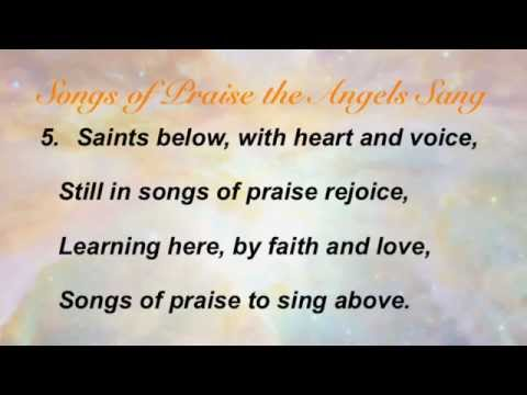 Songs of Praise the Angels Sang (Baptist Hymnal #235)