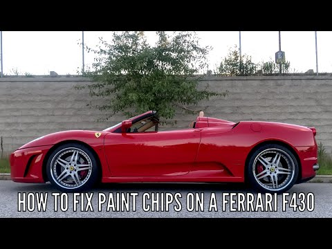 How To Fix Paint Chips On A Ferrari F430