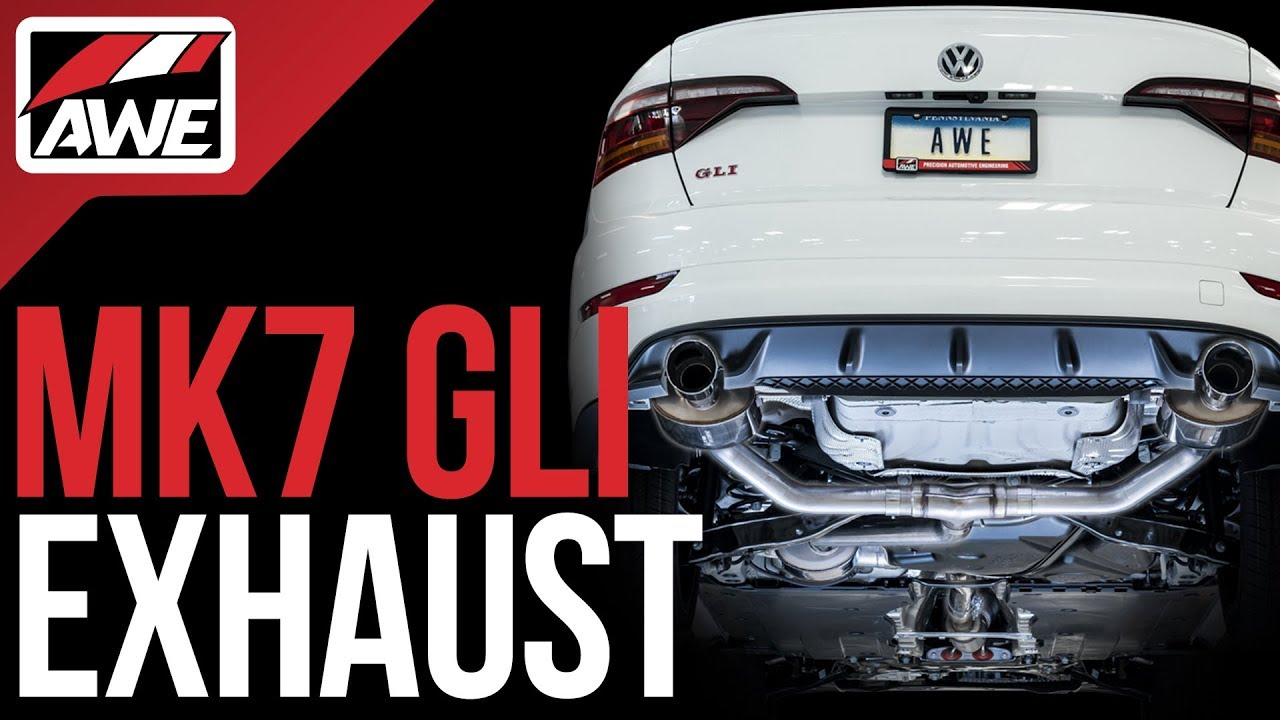 productrundown exhaust suite for the vw mk7 gli