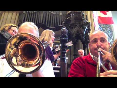 Canadian Staff Band, Carol Concert (Behind the Scenes)