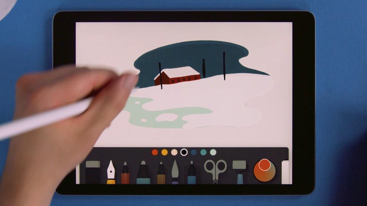 20 aplicaciones para ilustrar y diseñar en iPad Pro