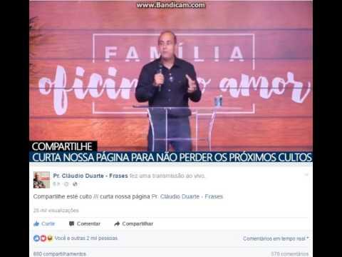 Pr Cláudio Duarte Frases E Suas Palavras Sábias