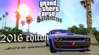 Gta San Andreas graphics mod 2016 Edition V2