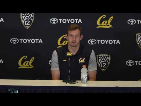 Cal Football: Davis Webb Presser vs OSU (10/04/16)