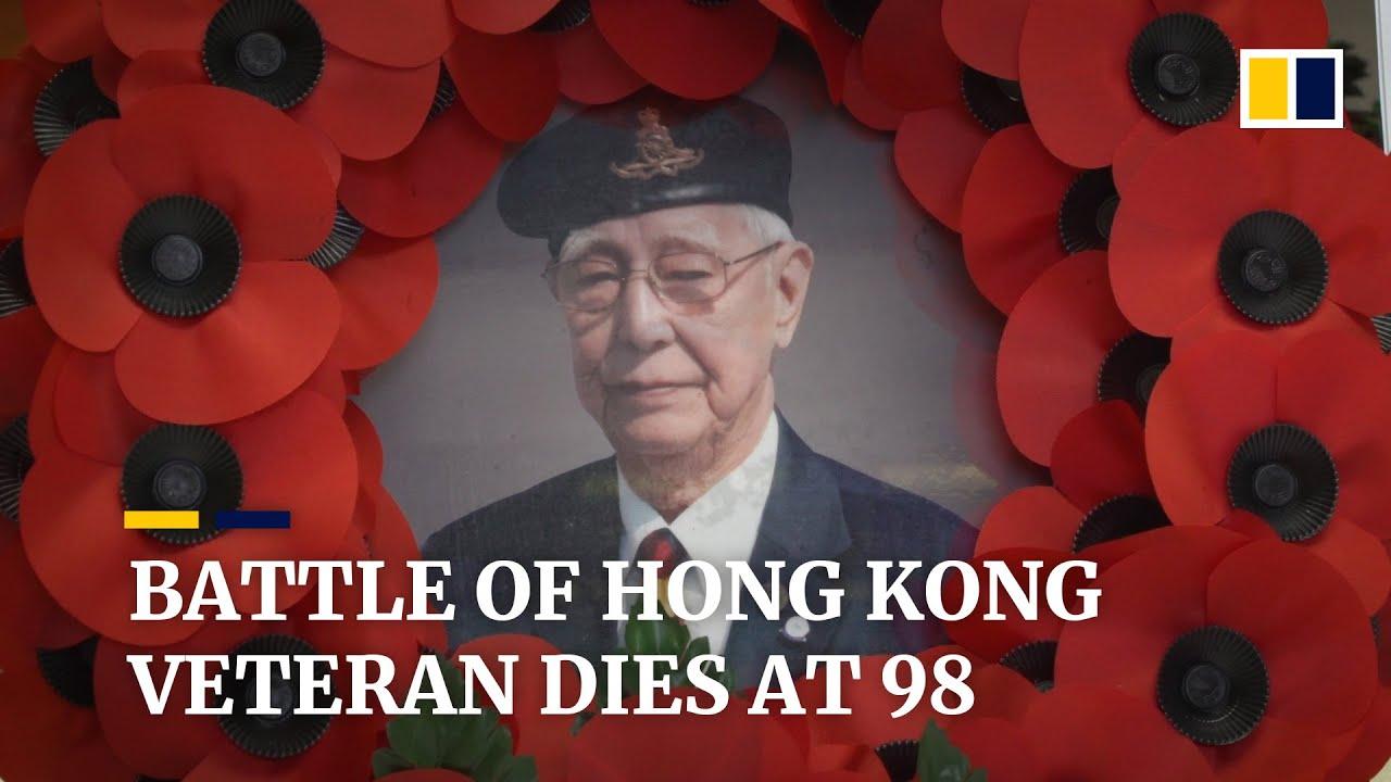 Peter Choi, veteran of the Battle of Hong Kong in World War II, dies aged 98
